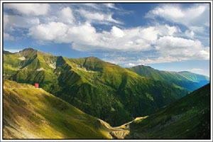 Relieful Muntilor Fagaras